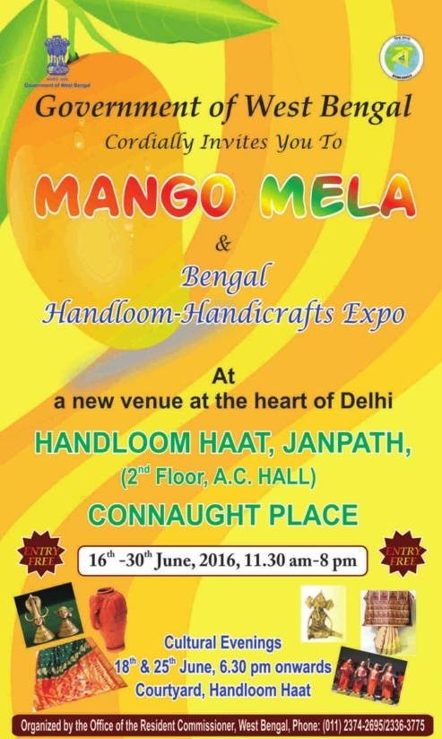Mango Mela Janpath Delhi