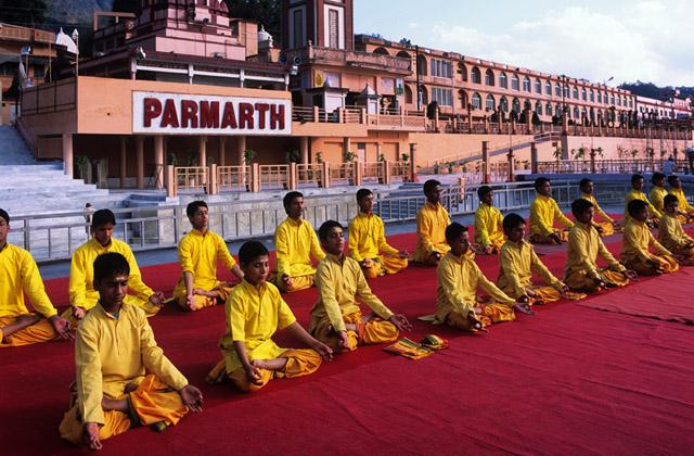 parmarth niketan ashram rishikesh image