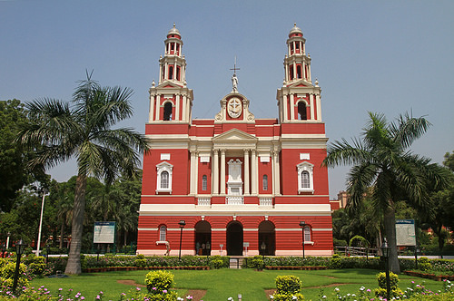 sacred heart cathedral church delhi , location , address
