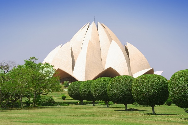 lotus temple delhi location