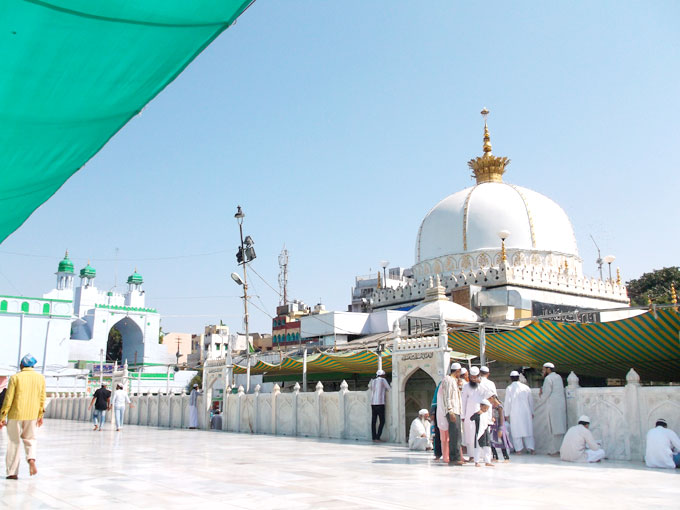ajmer sharif dargah location, timings
