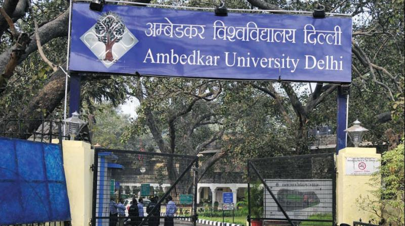 ambedkar university delhi phone number