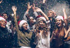 christmas party venues in delhi