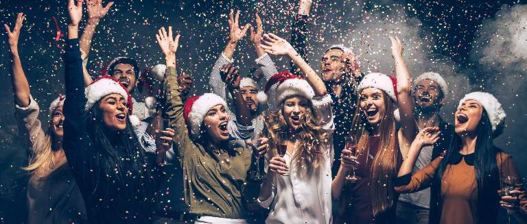 christmas party venues in delhi