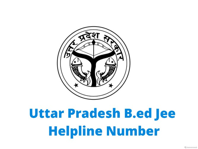 UP B ed Helpline Number, Enquiry Phone Number, Contact Details |