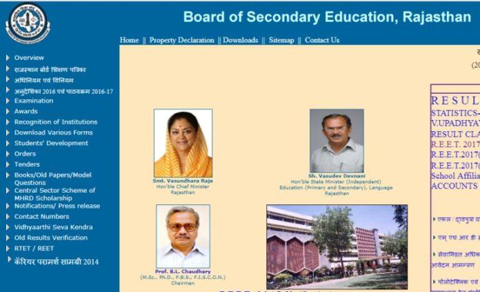 rajasthan bser board helpline number